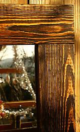Zrkadlá - Zrkadlo zlaty palisander - 7589442_