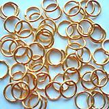 - Spoj.krúžok 6mm-zlatý-50ks - 7593557_