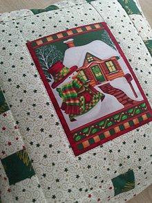 Úžitkový textil - Vianočný vankúš - 7593361_
