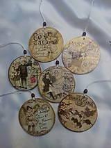 Dekorácie - Vianočné ozdoby Vintage - 7592998_