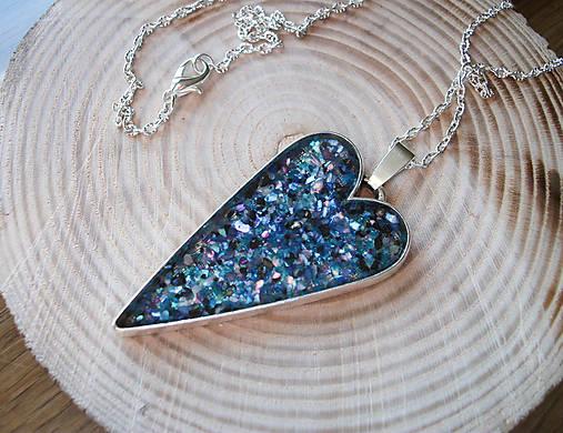 Dlhý náhrdelník srdce   Lostangela - SAShE.sk - Handmade Náhrdelníky 8652ddfd582