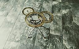 Nábytok - Kovový stôl Chopper art - 7592850_