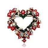 - Brošnička vianočné srdce - 7593862_