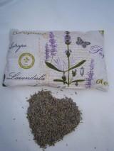 Úžitkový textil - Vankúš Levanduľa 65 g - 7596494_