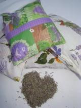 Úžitkový textil - Vankúš Levanduľa 65 g - 7596496_