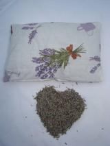 Úžitkový textil - Vankúš Levanduľa 80 g - 7596497_