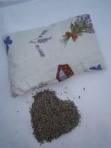 Úžitkový textil - Vankúš Levanduľa 80 g - 7596499_