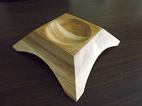 Iné doplnky - Popolník z dreva \