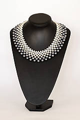 Náhrdelníky - ombre perlový náhrdelník podľa želania - 7596219_