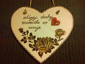 Dekorácie - Mamičke - 7594942_