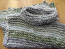 pletená vestička dlhšia