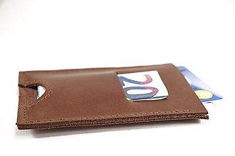 Doplnky - VKUS Minimalistická peňaženka - 7596489_