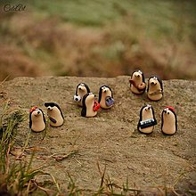 Darčeky pre svadobčanov - Personalizovaní ježkovia - menovky/darčeky pre hostí - 7595216_