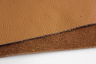 Suroviny - Exkluzívna koža - béžová 20x30 cm alebo na želanie - 7594392_