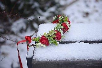 Ozdoby do vlasov - AKCIA venček by michelle flowers - 7596964_