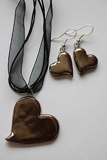 Sady šperkov - Náhrdelník + naušnice \