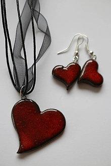 Sady šperkov - Náhrdelník + náušnice \