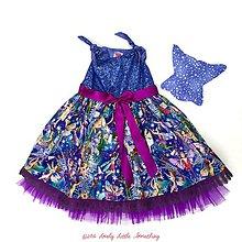 Detské oblečenie - Strieborno-fialové vílové s krídlami - 7598986_