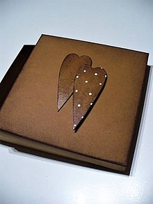 "Krabičky - krabička ""dve srdcia"" - 7598278_"