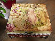 Krabičky - Šperkovnica Anjeliky - 7596569_