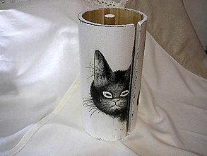 Krabičky - Čierna mačka do kuchyne - 7596608_