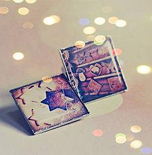 Magnetky - sada magnetiek Vianočné medovníčky 2ks - 7597431_