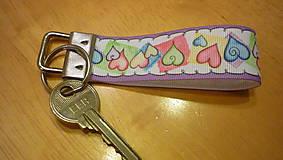 Kľúčenky - kľúčenka - srdiečka - 7600588_