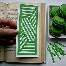 Papiernictvo - Zelená geometria... - 7600044_