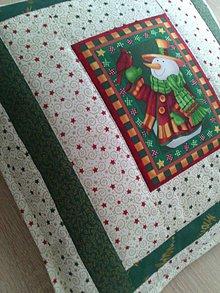 Úžitkový textil - Vianočný vankúš - 7601107_
