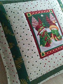 Úžitkový textil - Vianočný vankúš - 7601119_