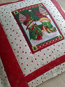 Úžitkový textil - Vianočný vankúš - 7601132_