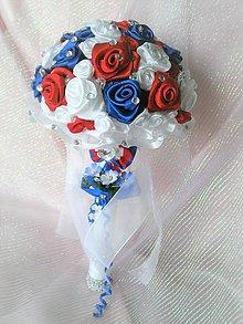 Dekorácie - Gratulačná kytica pre víťazov... - 7599881_