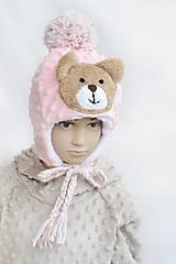 Zimná čiapka minky Teddy &Pink