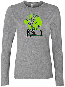 Tričká - Tričko DR strom zeme sivé - 7599816_