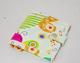 Peňaženky - Malá detská peňaženka s motýlikom - 7601242_