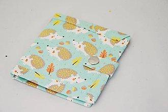 Peňaženky - Malá detská peňaženka s ježkami - 7601246_