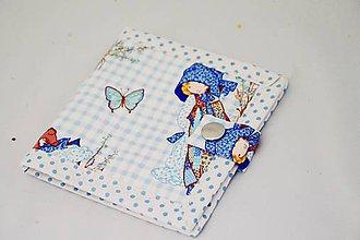 Peňaženky - Malá detská peňaženka s dievčatkom - 7601248_