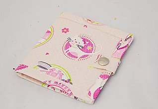 Peňaženky - Malá detská peňaženka s ružovými mačičkami - 7601260_
