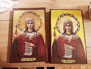 Nezaradené - Ikona sv. Tatiany - 7604024_