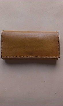 Peňaženky - Dámska kožená peňaženka - 7603127_