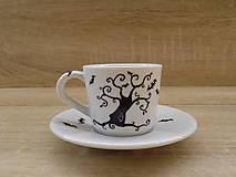 Nádoby - Ristretto šálka - Dark Tree - 7603939_