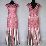 Šaty - Spoločenské šaty strih morská panna rôzne farby - 7602989_