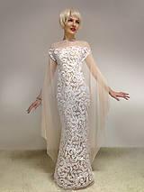 Šaty - Snow Fairy - 7602760_