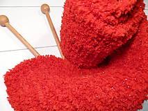 Mäkkulinký šálik Červený