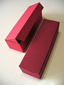 Krabičky - červená alebo bordová? - 7604188_