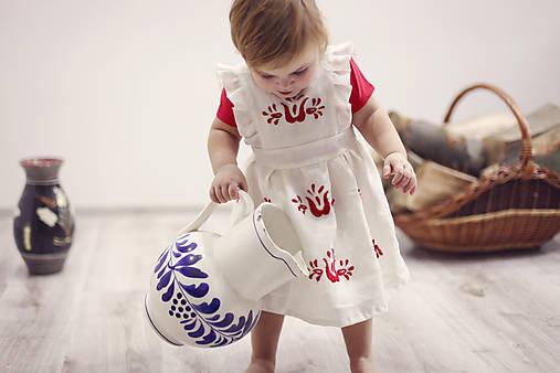 Detské oblečenie - Mini Slovenské devy, detská sukňa - 7604660_