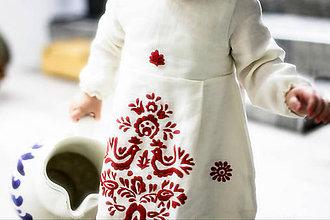 Detské oblečenie - Mini Slovenské devy, detské šaty - 7604646_