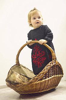 Detské oblečenie - Mini Slovenské devy, detské šaty - 7604691_