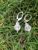 Sady šperkov - Ľadové... krištáľ - sada šperkov - 7604312_