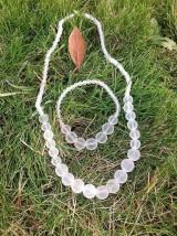 Sady šperkov - Ľadové... krištáľ - sada šperkov - 7604316_